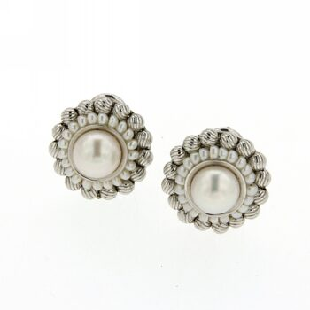 EARINGS/ZANCAN/ZAN-OR285 PERLA