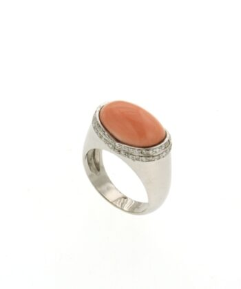 RING/NOVARE/EUROPE-PINK CORAL