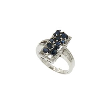 RING/ONR/46/SQUARE SAPPHIRE