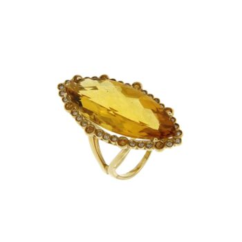 RINGS/MORAGLIONE/AD2107 YELLOW