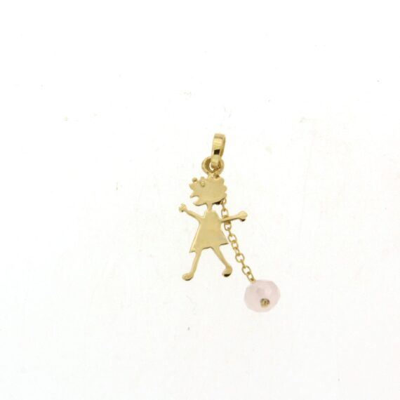 GIRL E462.5 & CHAIN PINK STONE