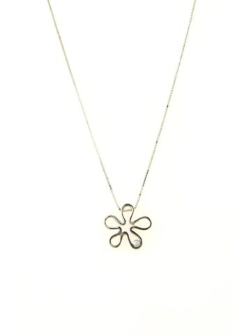 NECKLACE/9.81/EXA 782/FLOWER BR