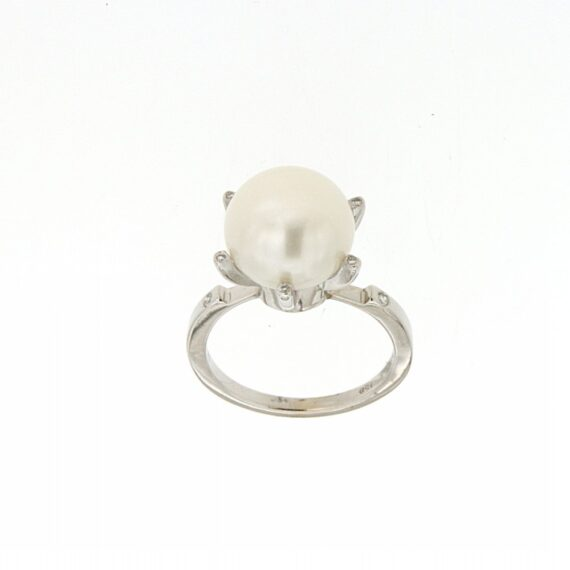 RING/9.81/DAMO 126 - BUTTON PRL 12mm- 6BR