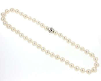 NECKLACE/PRL 9.5*10mm/XIF1378W