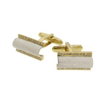 CUFF-LINKS/TILES-KERAMIDI YELLOW PLAISIO YELLOW BR