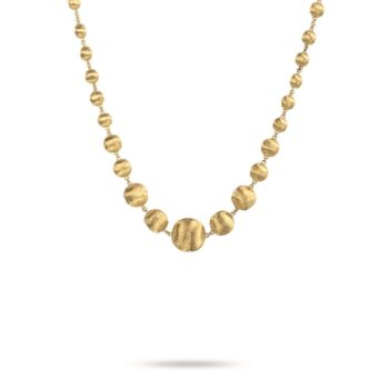 NECKLACE/MARCO BICEGO/AFRICA/CB1416/DEGRADE BALLS/43cm
