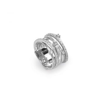 RING/MARCO BICEGO/GOA/AG277-B2/7 ROWS (5 W +2 WH BR)
