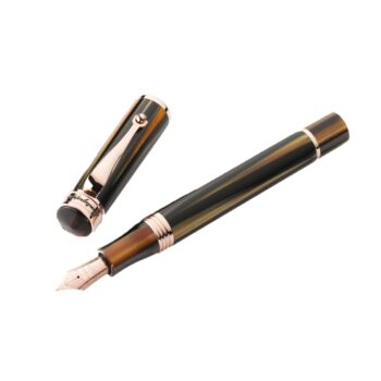 ISDUR3RW/DUCALE BROWN FOUNTAIN PEN M RGP