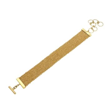 BRACELET/IT FASHION/3026 GOLD-2cm