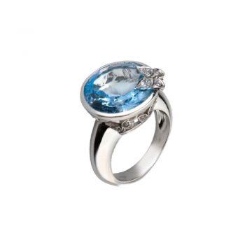 RING/CARRERA Y CARRERA/DA10542-020804/MAXI TWIST BLUE TOPAZ