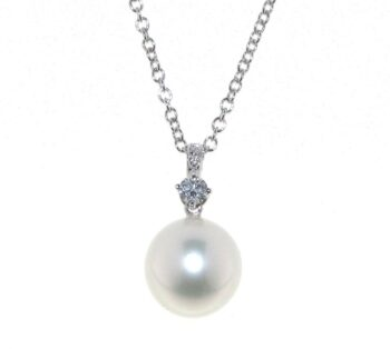 NECKLACE/UTOPIA/PB1B046-S SEA PEARL WHITE 11.90mm/SIMPLY COLLECTION
