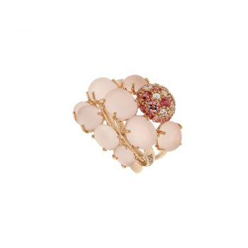 RING/BRUMANI/BAOBAB ROSE/10.01875.3.10.04