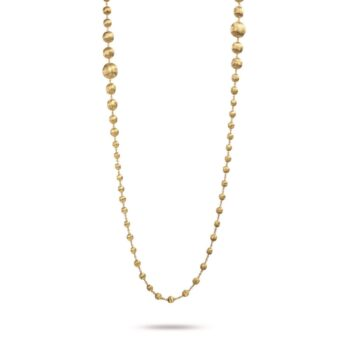 NECKLACE/MARCO BICEGO/AFRICA/CB1417 GOLD BALLS/92cm