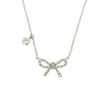 NECKLACE/VISCONTI/Z615/10/BOW BR & 1BR
