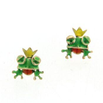 FROG GREEN-YELLOW-RED SMALTO/EXA 847