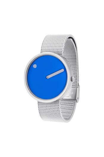 WATCH PICTO/43380-0820/40mm/COBOLT BLUE DIAL-MATT STEEL CASE/MATT STEEL MESH BAND