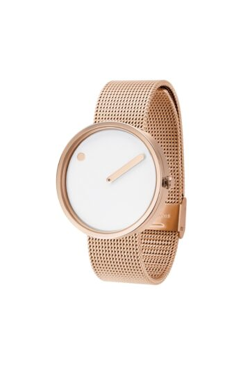 WATCH PICTO/43383-1120/40mm/WHITE DIAL-ROSE GOLD CASE/ROSE GOLD MESH BAND