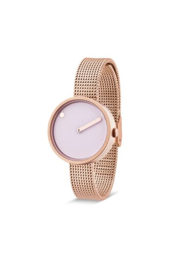 WATCH PICTO/43344-1112/30mm/DOUCHE PINK DIAL-ROSE GOLD CASE/ROSE GOLD MESH BAND
