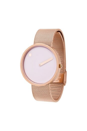 WATCH PICTO/43382-1120/40mm/DOUCHE PINK DIAL-ROSE GOLD CASE/ROSE GOLD MESH BAND