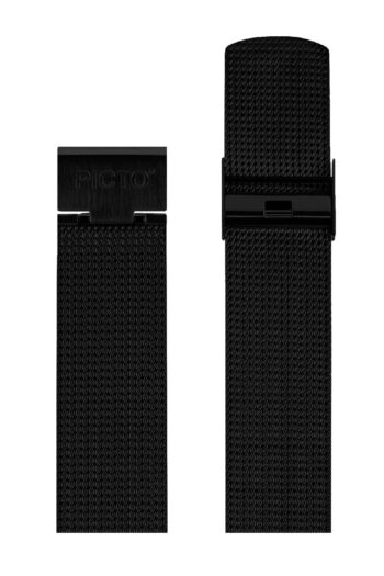 ΜΠΡΑΣΕΛΕ PICTO/1020/40mm/MATT IP BLACK STEEL MESH BAND/WIDTH 20mm