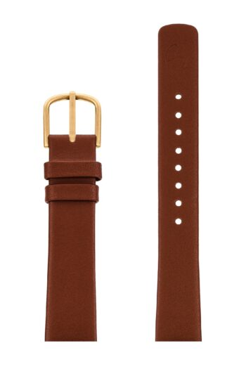 ΛΟΥΡΑΚΙ AJ/1607G/34mm/BROWN LEATHER STRAP-GOLD BRUSHED BUCKLE/WIDGTH 16mm