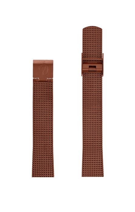 ΜΠΡΑΣΕΛΕ AJ/1413/30mm/COPPER BRUSHED MESH BAND-STAINLESS STEEL COPPER BRUSHED BUCKLE/WIDTH 14mm