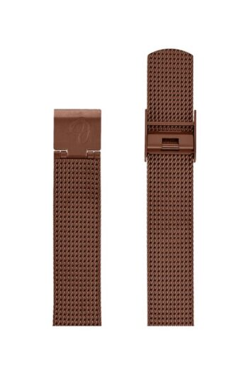 ΜΠΡΑΣΕΛΕ AJ/1613/34mm/COPPER BRUSHED MESH BAND-STAINLESS STEEL COPPER BRUSHED BUCKLE/WIDTH 16mm