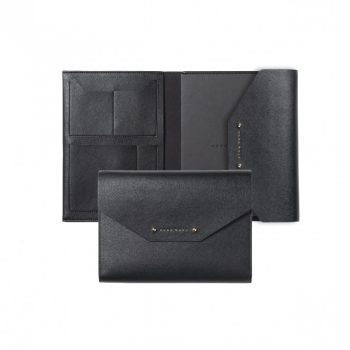 "HTM907A/HUGO BOSS/CONFERENCE FOLDER ""ELEGANCE"" A5 BLACK"