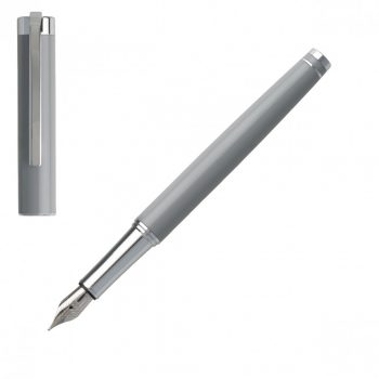 HST9542K/HUGO BOSS/FOUNTAIN PEN ACE LIGHT GREY