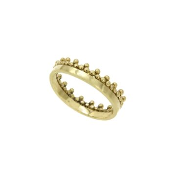 RING/GRANES/VERAKI/2 LINES/ LOUSTRE - CROWN