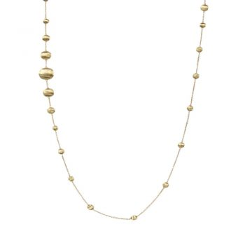 NECKLACE/MARCO BICEGO/AFRICA/CB1784 GOLD BALLS WITH CHAIN/92cm