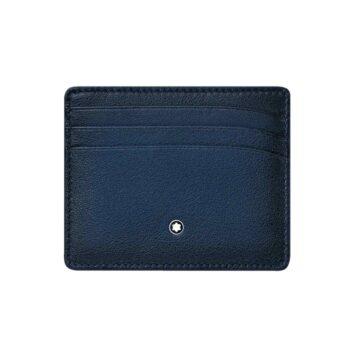 123728/CARD HOLDER MST SFUMATO POCKET 6CC/NAVY BLUE