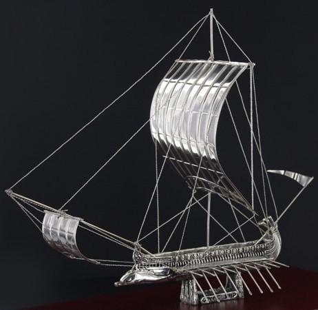 SILVER SHIPS/ΤΡΙΗΡΗΣ K38/ΑΣΗΜΙ 925