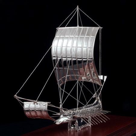 SILVER SHIPS/ΤΡΙΗΡΗΣ K48/ΑΣΗΜΙ 925