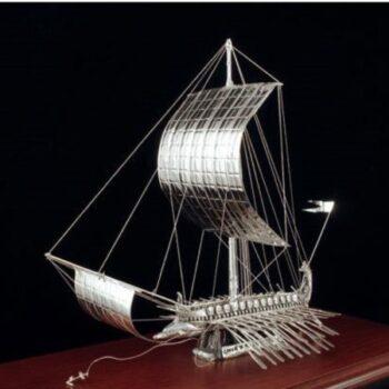 SILVER SHIPS/ΤΡΙΗΡΗΣ K58/ΑΣΗΜΙ 925