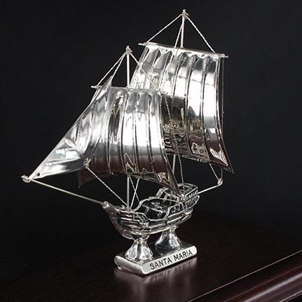"SILVER SHIPS/ΙΣΤΙΟΦΟΡΟ ""SANTA MARIA"" Κ11/ ΑΣΗΜΙ 925"