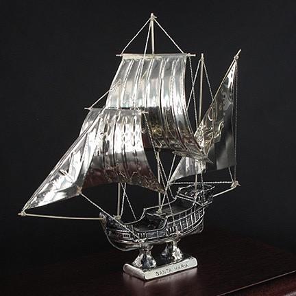 "SILVER SHIPS/ΙΣΤΙΟΦΟΡΟ ""SANTA MARIA"" Κ021/ ΑΣΗΜΙ 925"
