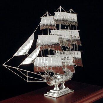 "SILVER SHIPS/ΙΣΤΙΟΦΟΡΟ ""SANTA MARIA"" Κ41/ ΑΣΗΜΙ 925"
