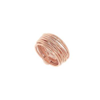WDNAA102/M/RING PINK SHINY/SPRING STRETTO BASE FILO TONDO