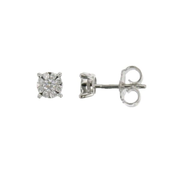 EARRING/VISCONTI/AB647/10/SKMO INVISIBLE 0.34ct