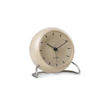 WATCH AJ/TABLE CLOCK -ALARM/CITY HALL/43693/MATT SAND-MATT SAND CASE