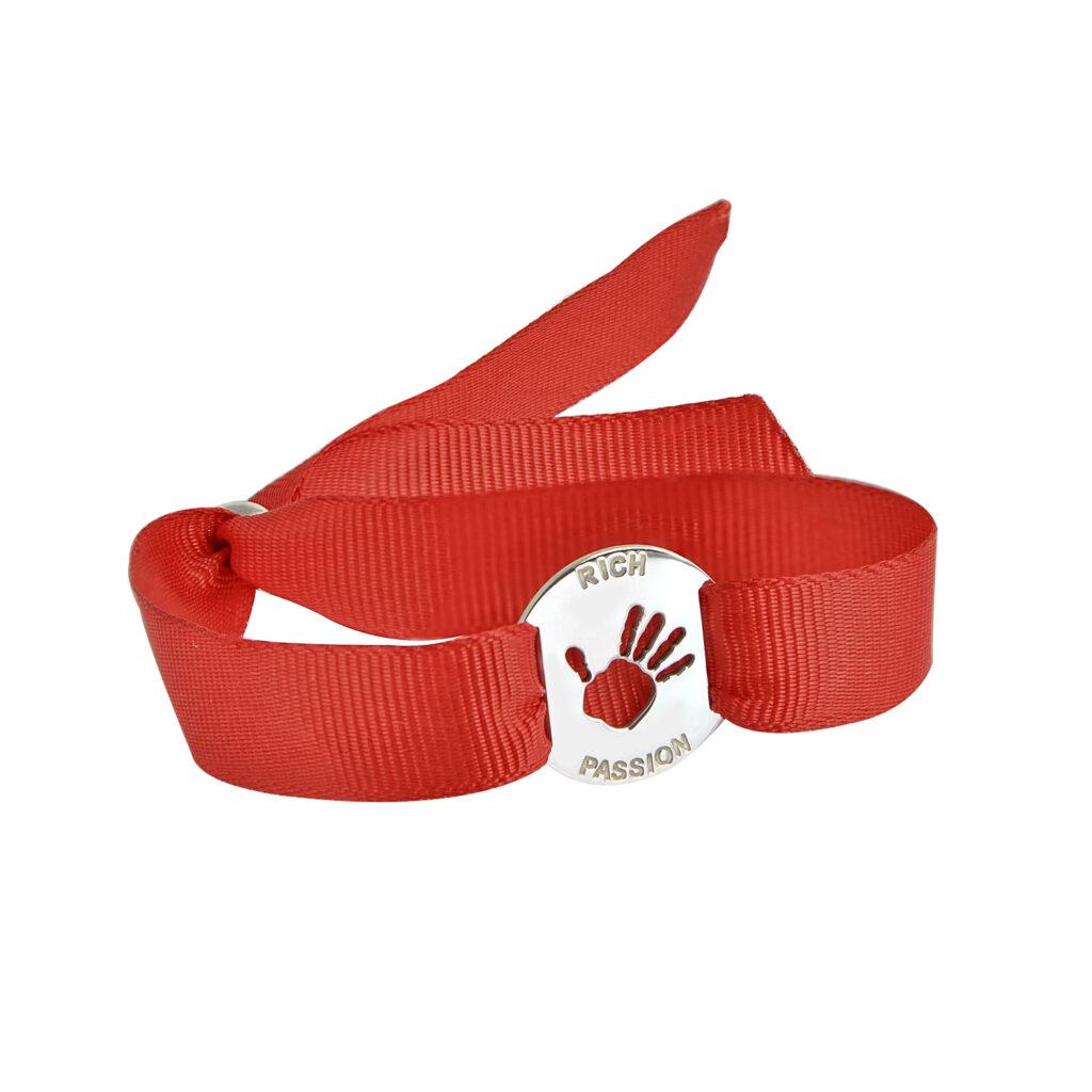 Red dress bracelet